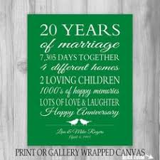 20 years anniversary gifts anniversary gifts for 20th anniversary 20 year anniversary gift