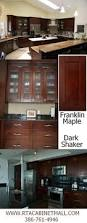Dark Shaker Kitchen Cabinets Kitchen Of The Day A Transitional Design With Shaker Espresso