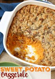 sweet potato recipes thanksgiving easy sweet potato casserole the country cook