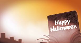 seamless halloween graveyard background generic halloween themed loopable background with happy halloween