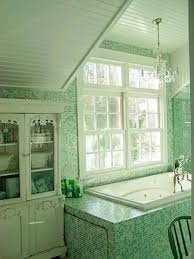 bathroom tile seafoam green backsplash green hex tile green