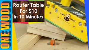 Woodworking Plans Router Table Free by How To Build A Router Table For Woodworking For Under 10