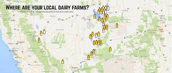 Map Of Nevada And Utah by Farms Dairy Council Of Utah Nevada