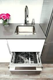 Dishwasher Size Opening Have A Standard Size Opening Most Double Fisher Paykel Single