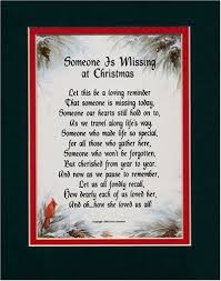 memorial poems for memorial poems for loved ones at christmas someone is missing at
