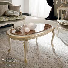 classic coffee table wooden metal marble casanova