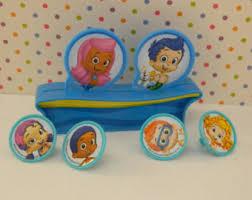 Bubble Guppies Decorations Bubble Guppies Cake Etsy