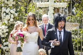 after wedding mötley crüe member sixx s antoinette inspired wedding