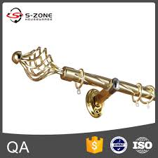 Western Curtain Rod Holders by Decorative Triple Curtain Rod Bracket Decorative Triple Curtain