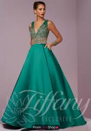 tiffany dresses at prom dress shop