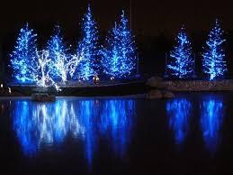 led lights on tree lights decoration
