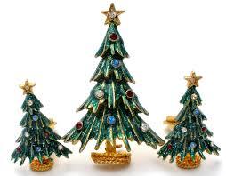christmas tree brooch pin u0026 earrings eisenberg ice u2013 the jewelry