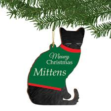 personalized cat gifts christmas personalized cat ornament