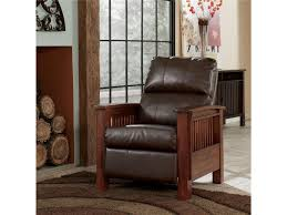 signature design by ashley santa fe high leg recliner with mission