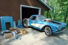 1957 corvette gasser 1959 corvette dragster period gasser