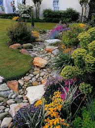 weekly pinterest inspiration dry creek bed gardens and rock
