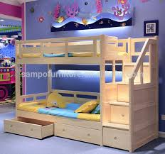 King Size Loft Bed With Stairs Latitudebrowser - King size bunk beds