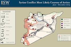 Syria War Map by Isw Blog Likely Courses Of Action In The Syrian Civil War June