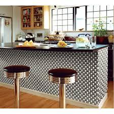 kitchens with stainless steel backsplash silver chrome stainless steel backsplash arched mosaic bravotti