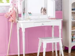 Childrens Vanity Desk Childrens Vanity Table With Mirror And Bench Home Design Ideas