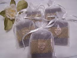 soap bridal shower favors 702 40 lavender soaps with white sheer bags