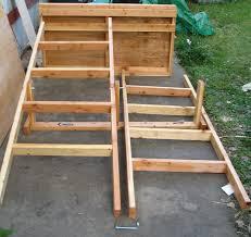 100 ultimate bed plans basic platform loft bed plain