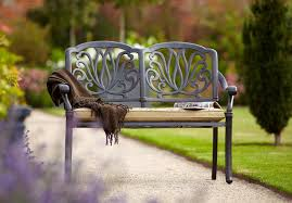 hartman amalfi bench hayes garden world