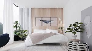 plante dans la chambre 20 idées pour décorer une chambre avec des couleurs neutres
