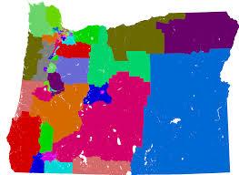map of oregon house oregon house of representatives redistricting