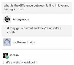 difference between iphone and android the difference between falling in and a crush