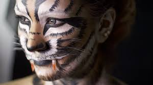 Tiger Halloween Makeup by Tiger Makeup Transformation
