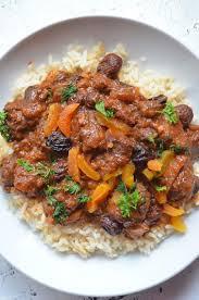 moroccan beef stew by mooshu jenne