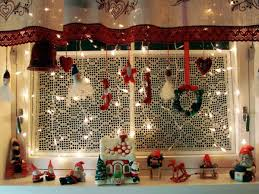 Home Interiors Christmas Fancy Hanging Window Christmas Lights 47 With Additional Image
