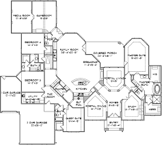 French Country Floor Plans French Country Style House Plans Plan 85 206