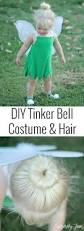 diy toddler tinker bell costume and hair tinker bell costume