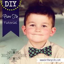 diy bow tie tutorial estes
