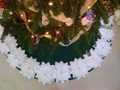 of tn tree skirt by festivefelt on etsy