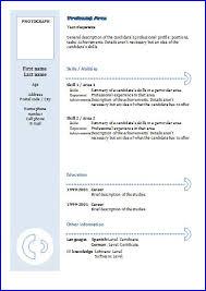 Tefl Resume Sample by Cv Templates Functional 3 Resume Templates
