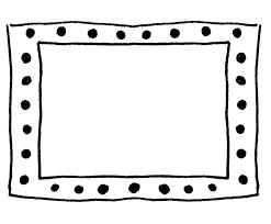 8 hand drawn frames to doodle dawn nicole designs