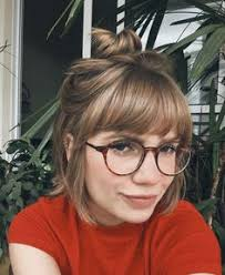 62 hair cut national image result for bangs with glasses hair pinterest rose