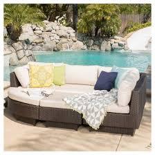 Branson Pc Wicker Sofa Set Multi Brown Christopher Knight - Wicker sofa sets