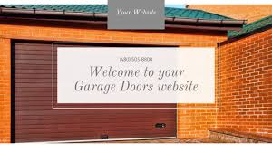 garage door website template i44 in spectacular home decoration