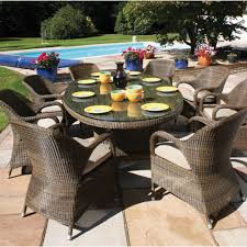 8 person outdoor table 45 images caluco maxime 8 person resin
