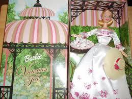 avon victorian tea barbie doll caucasian