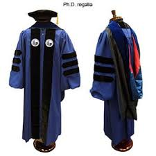 doctoral graduation gown cap and gown