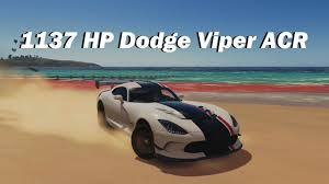 Dodge Viper 1990 - extreme offroad silly builds 2016 dodge viper acr forza horizon
