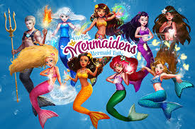 meet fin fun mermaidens 7 mermaid princesses