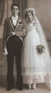 backdrop wedding korea vintage korean newlyweds the in a hanbok style dress i can