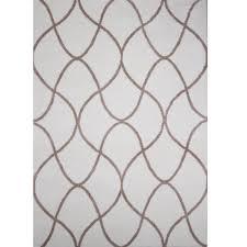 home dynamix ramapo ivory beige microfiber shag 7 ft 10 in x 10
