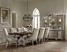 homelegance orleans ii white wash traditional 7pc formal dining